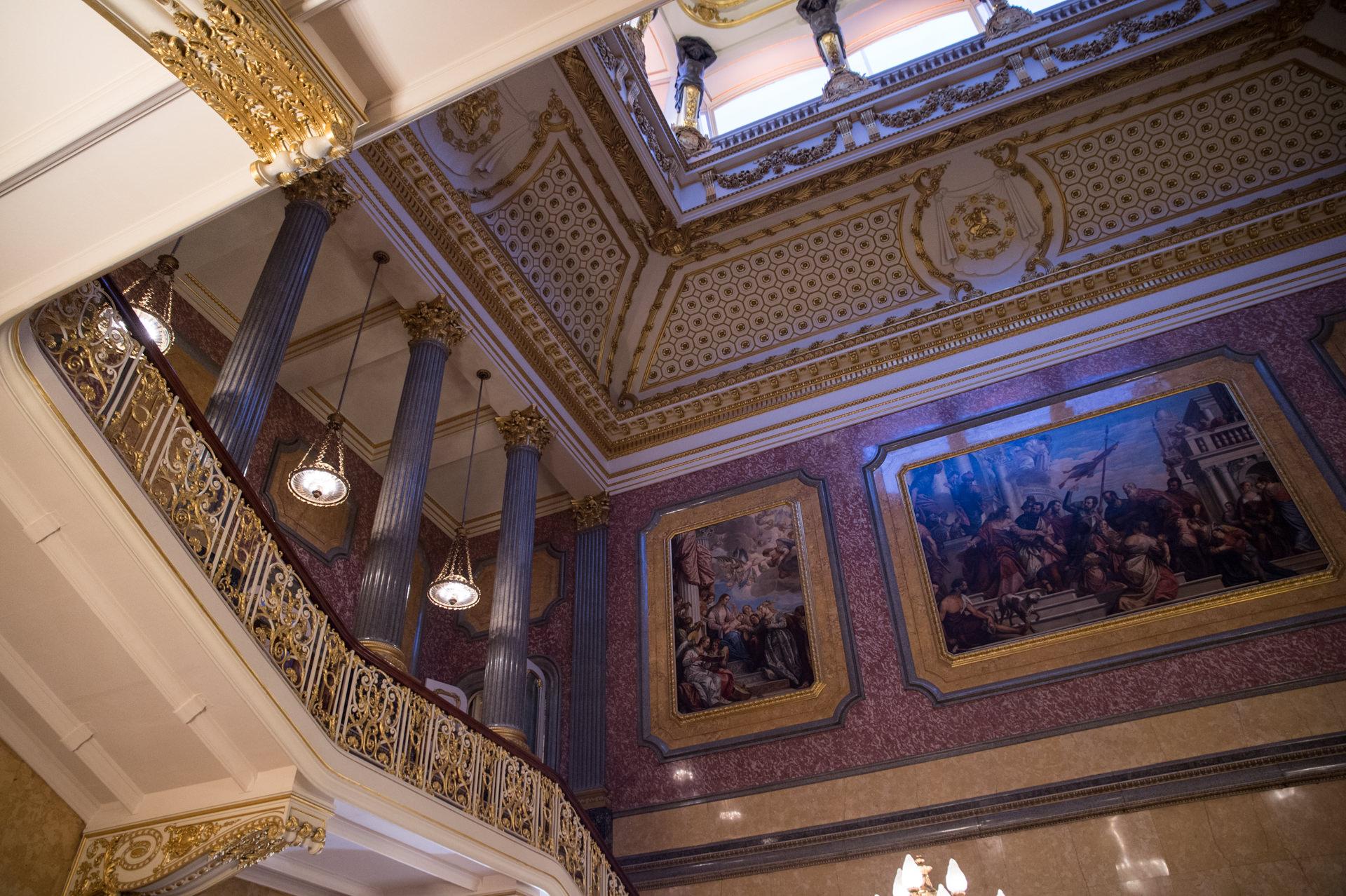 Lancaster House London interior decoration
