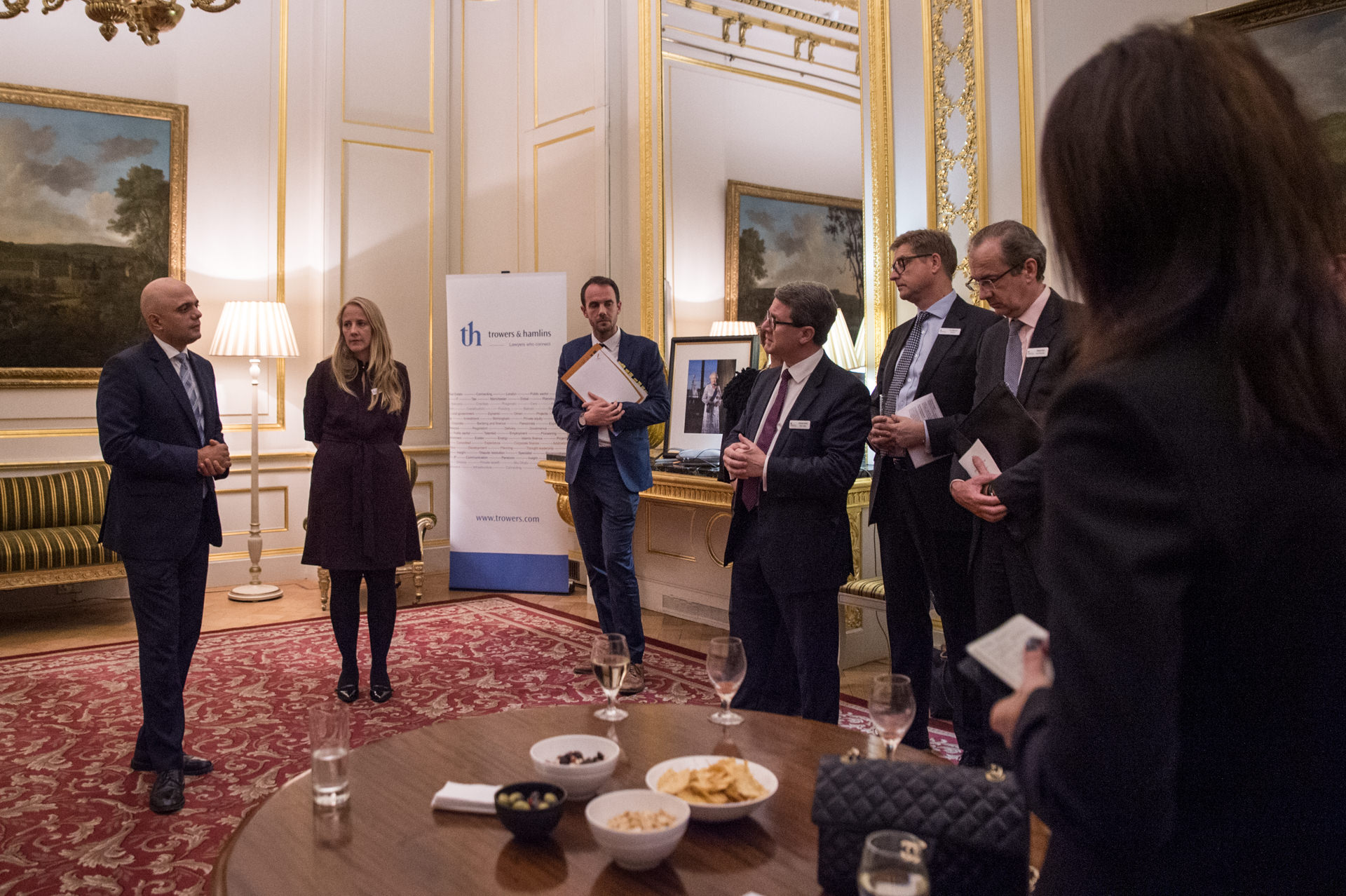 UK ministers meeting in Lancaster House