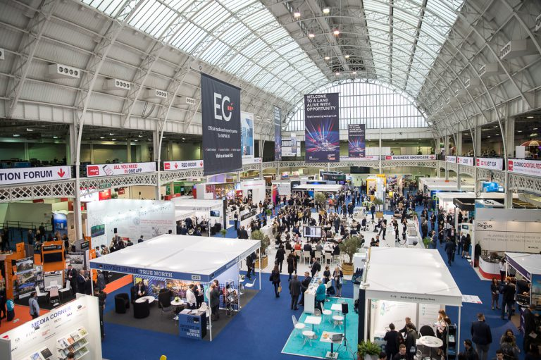 Trade show in Olympia London