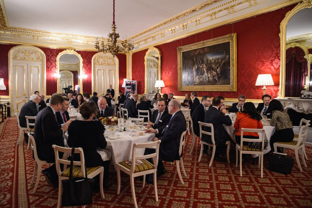 Official Diner in Lancaster House London