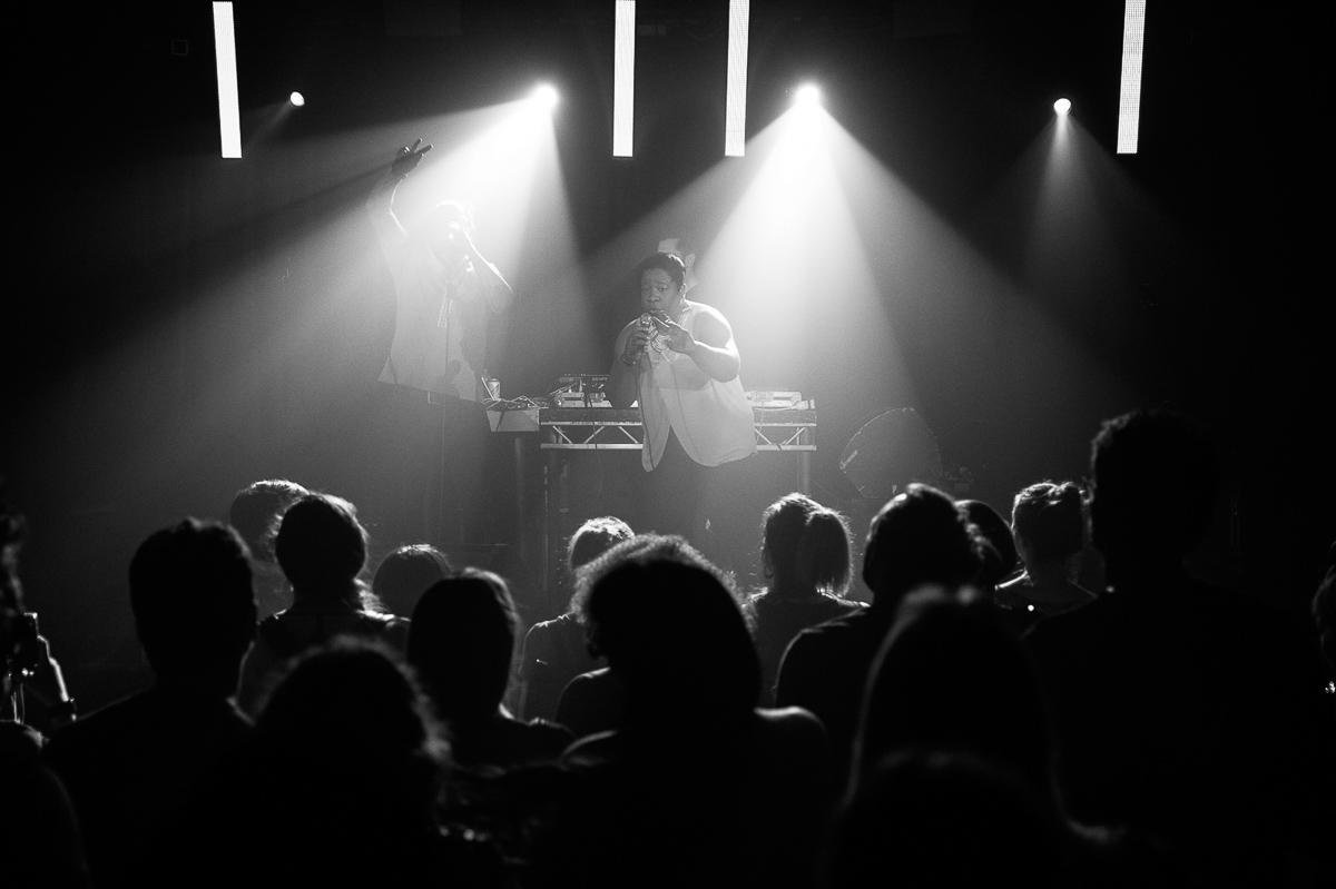 Fotografia eventowa Londyn, koncert na Hoxton