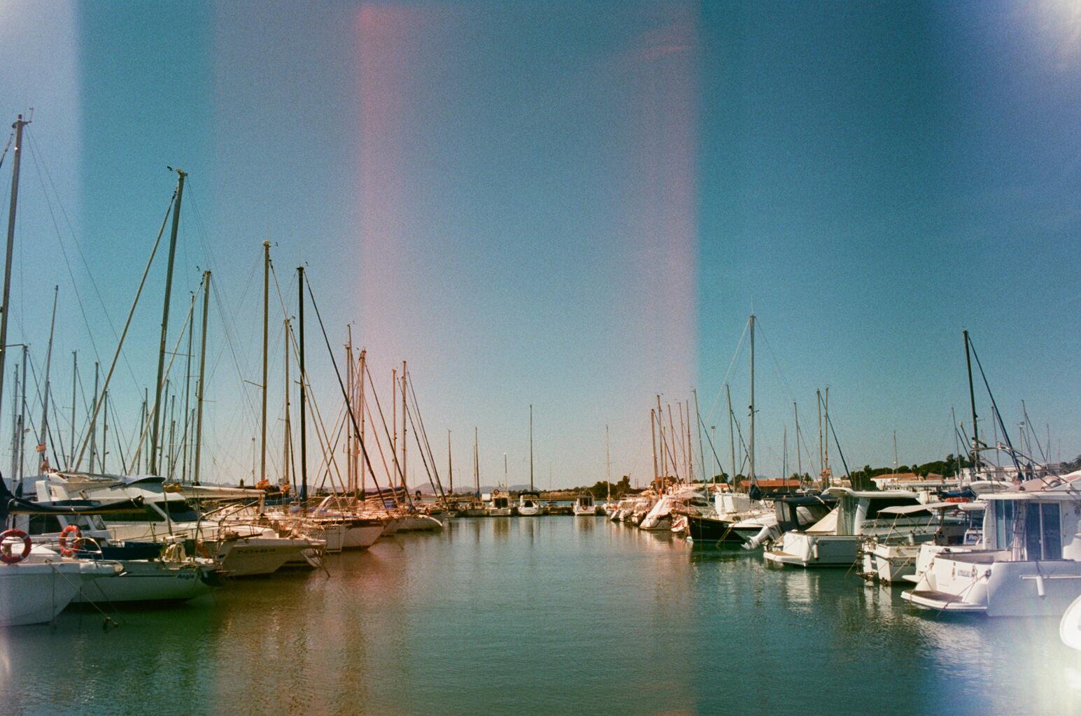 Los Alcazares Merina with yachts
