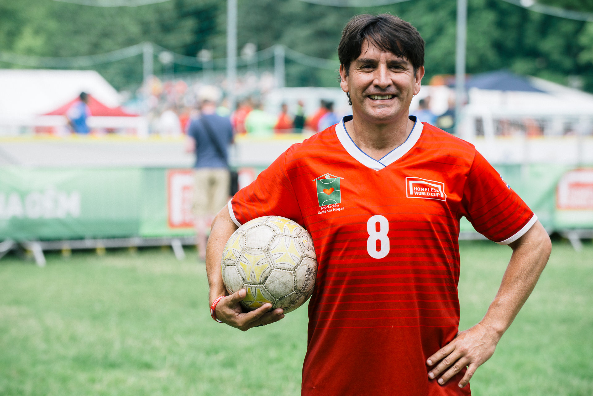 homeless world cup cardiff 2019 player