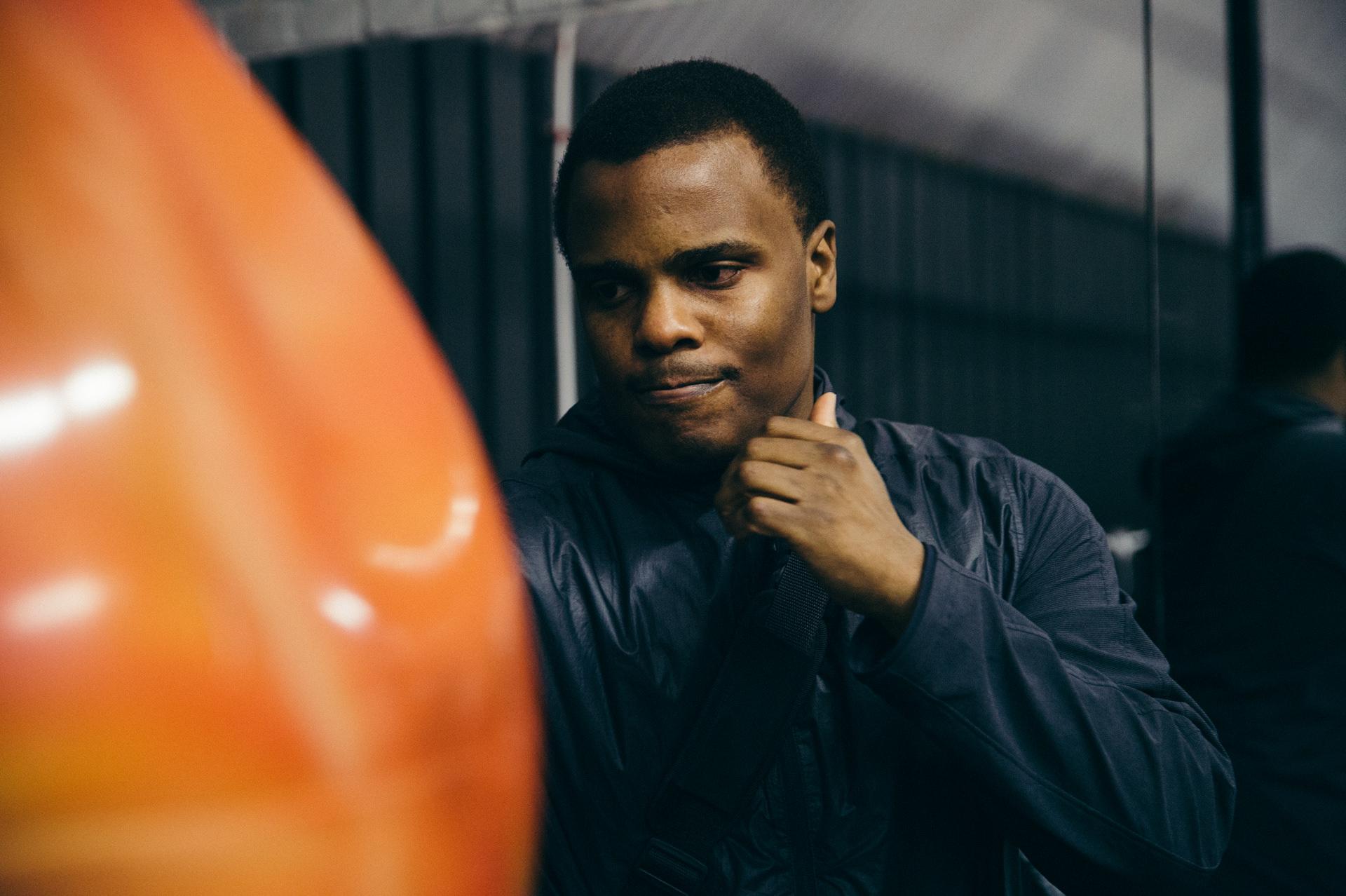 Moreno Boxing gym training