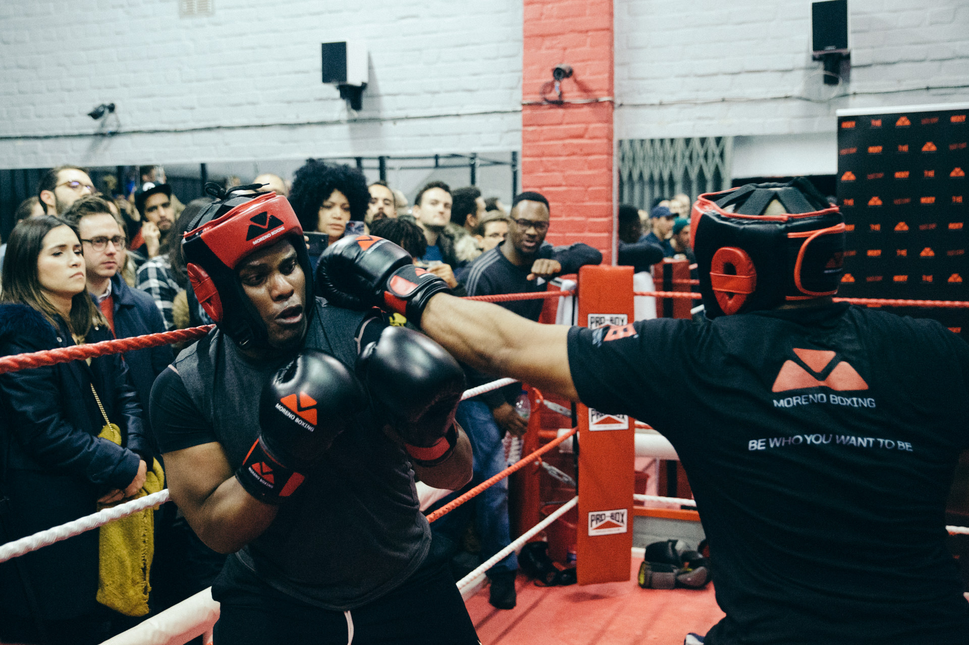 Moreno Boxing gym boxing competition