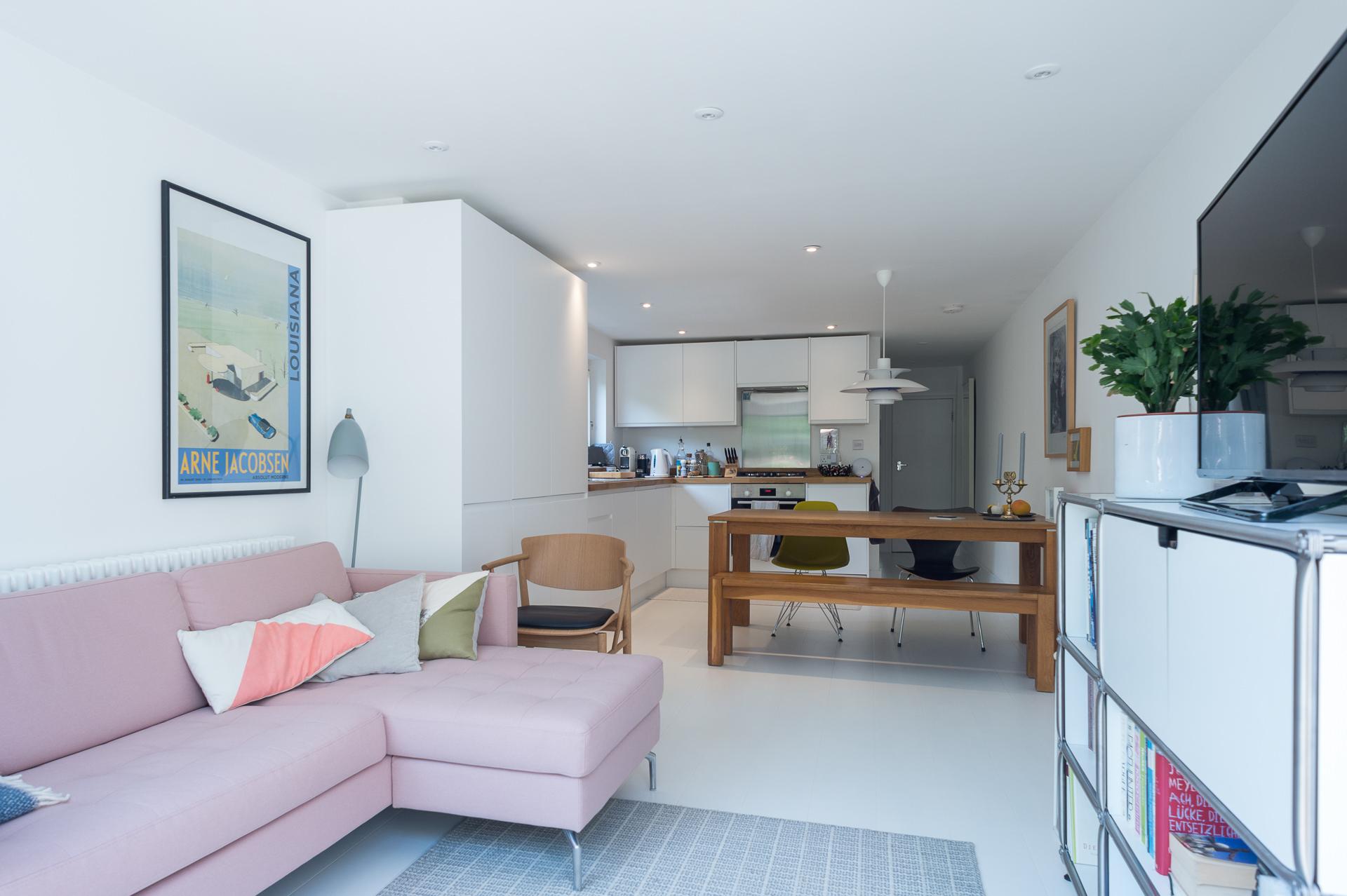 modern kitchen in London