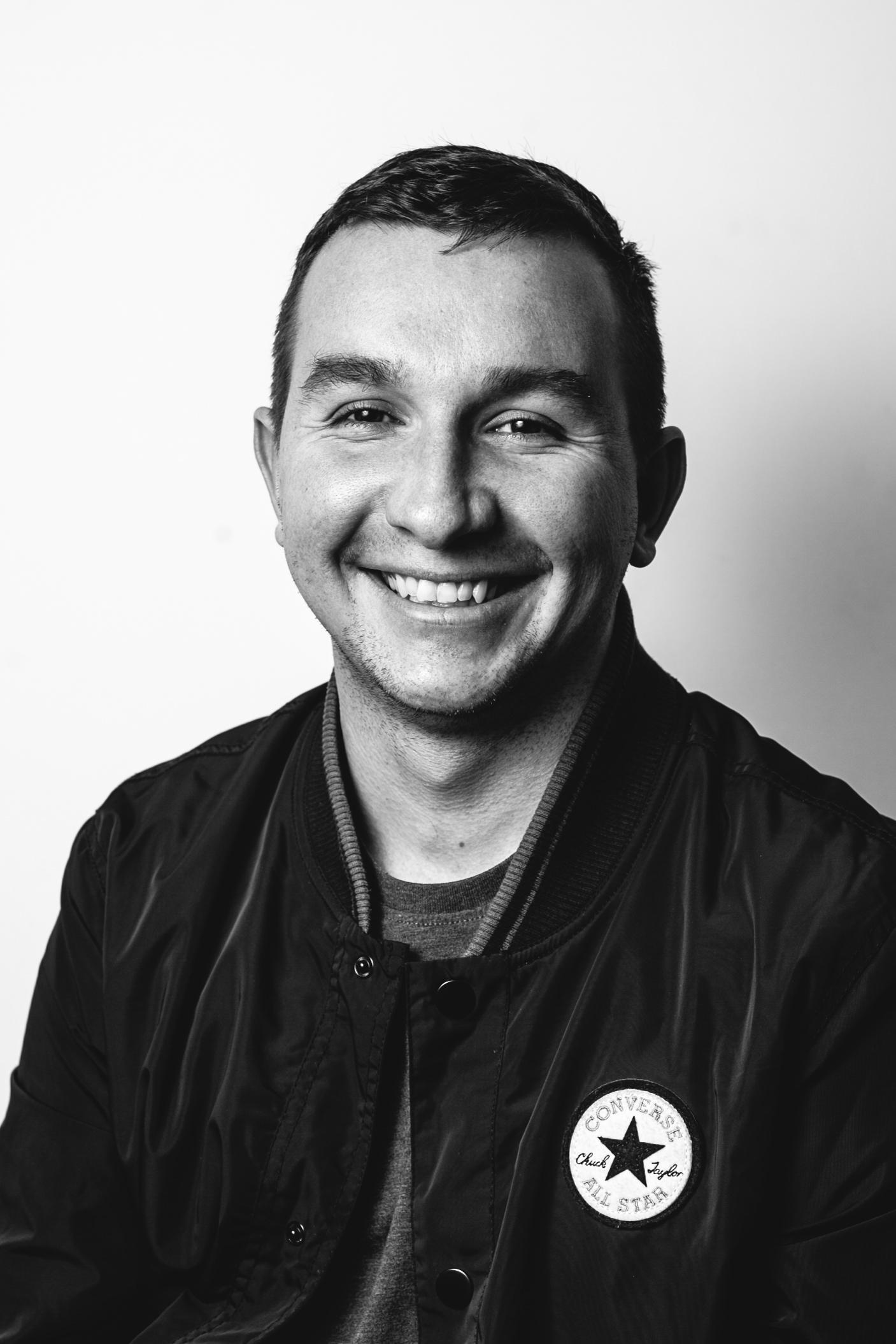 daniel lipinski photographer black and white portrait