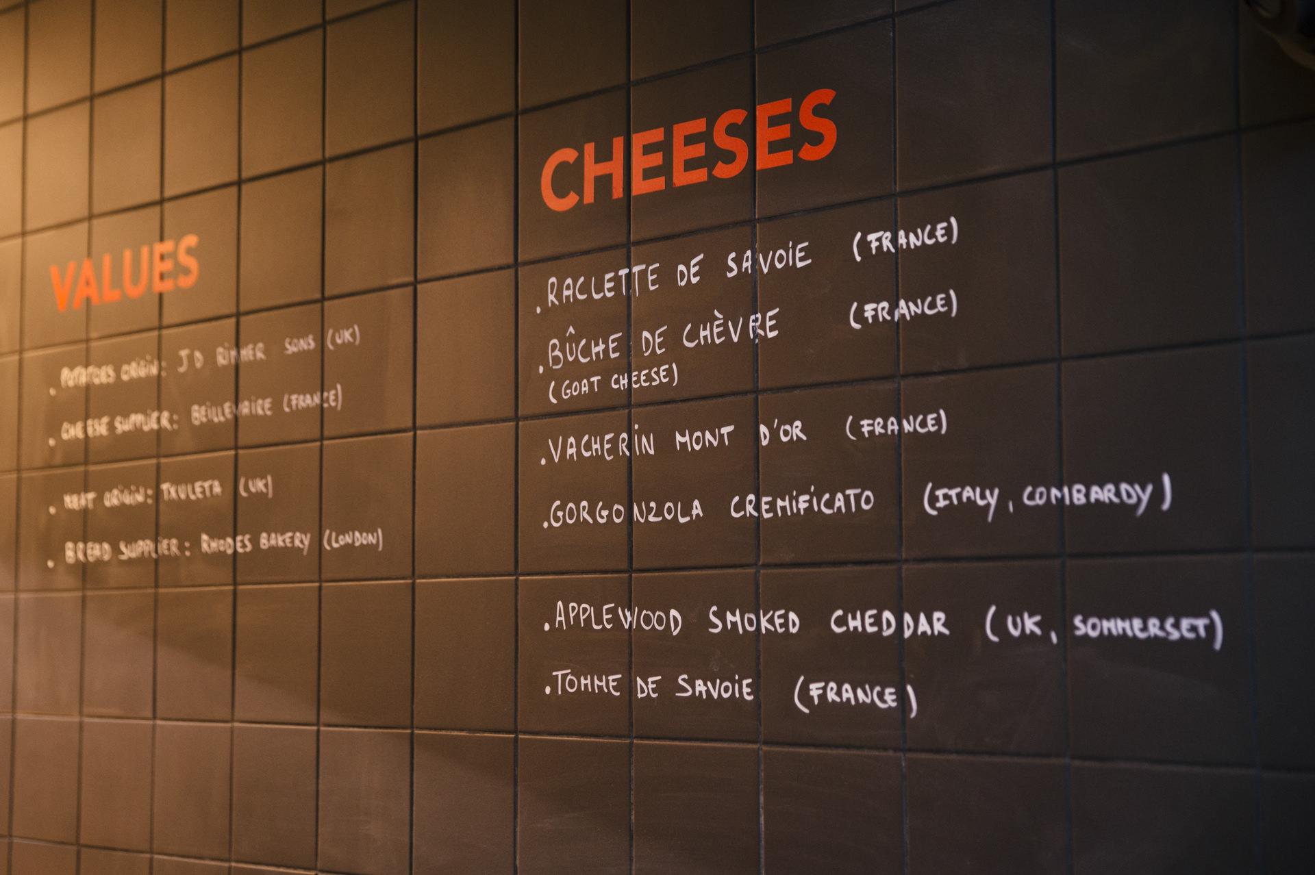 the patate london menu