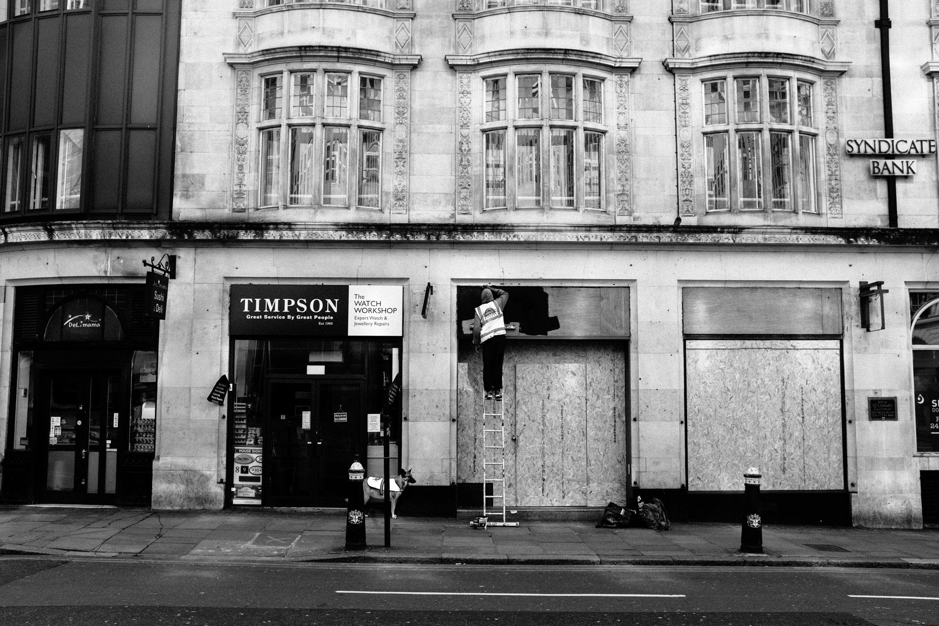 another shop closed covid 19 london 2020