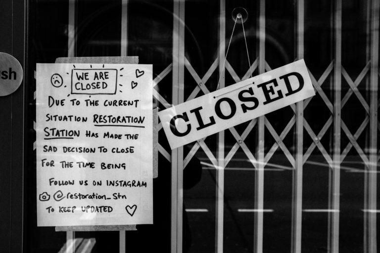 bar closure corona virus london 2020