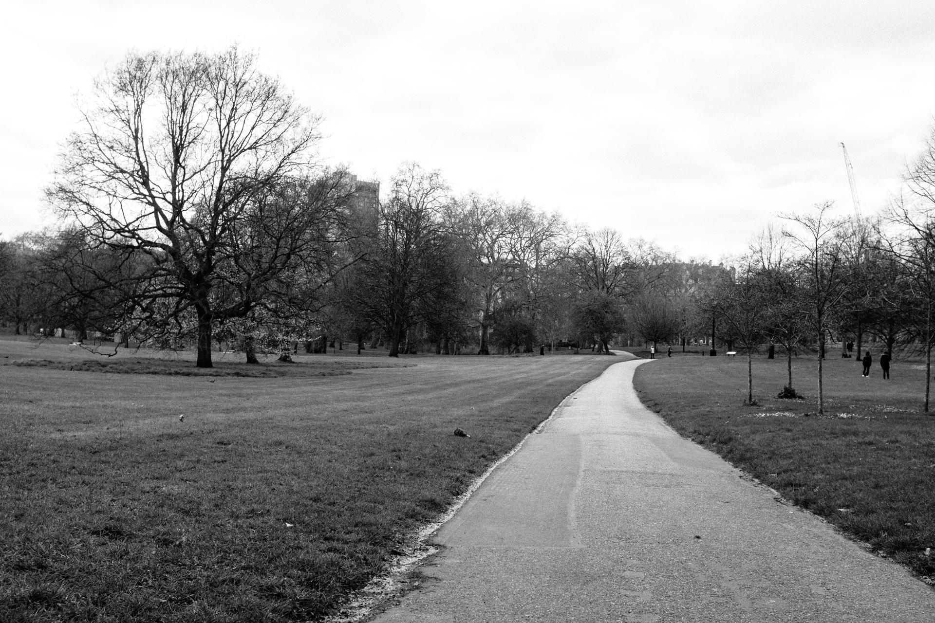 empty st james park