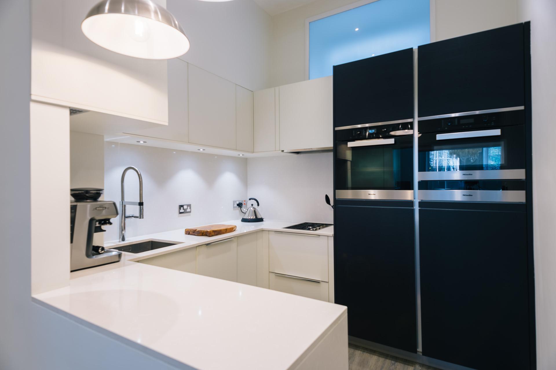 designer kitchen london apartment