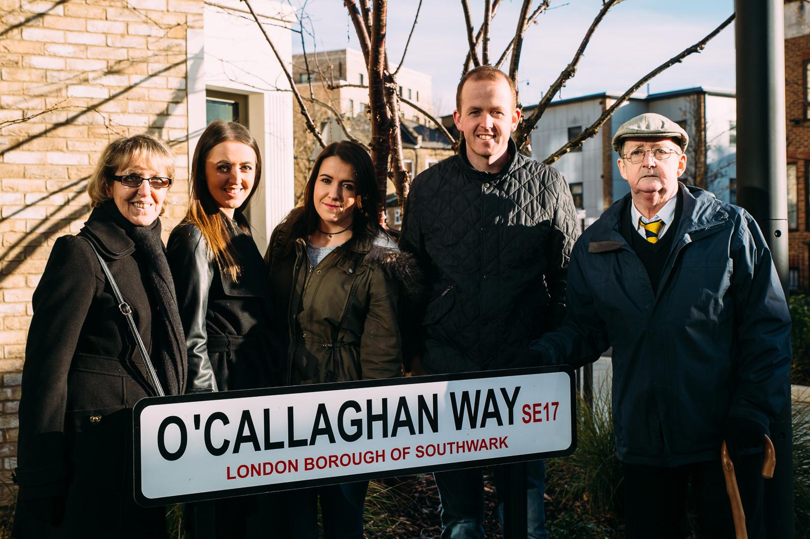 o'callaghan familly