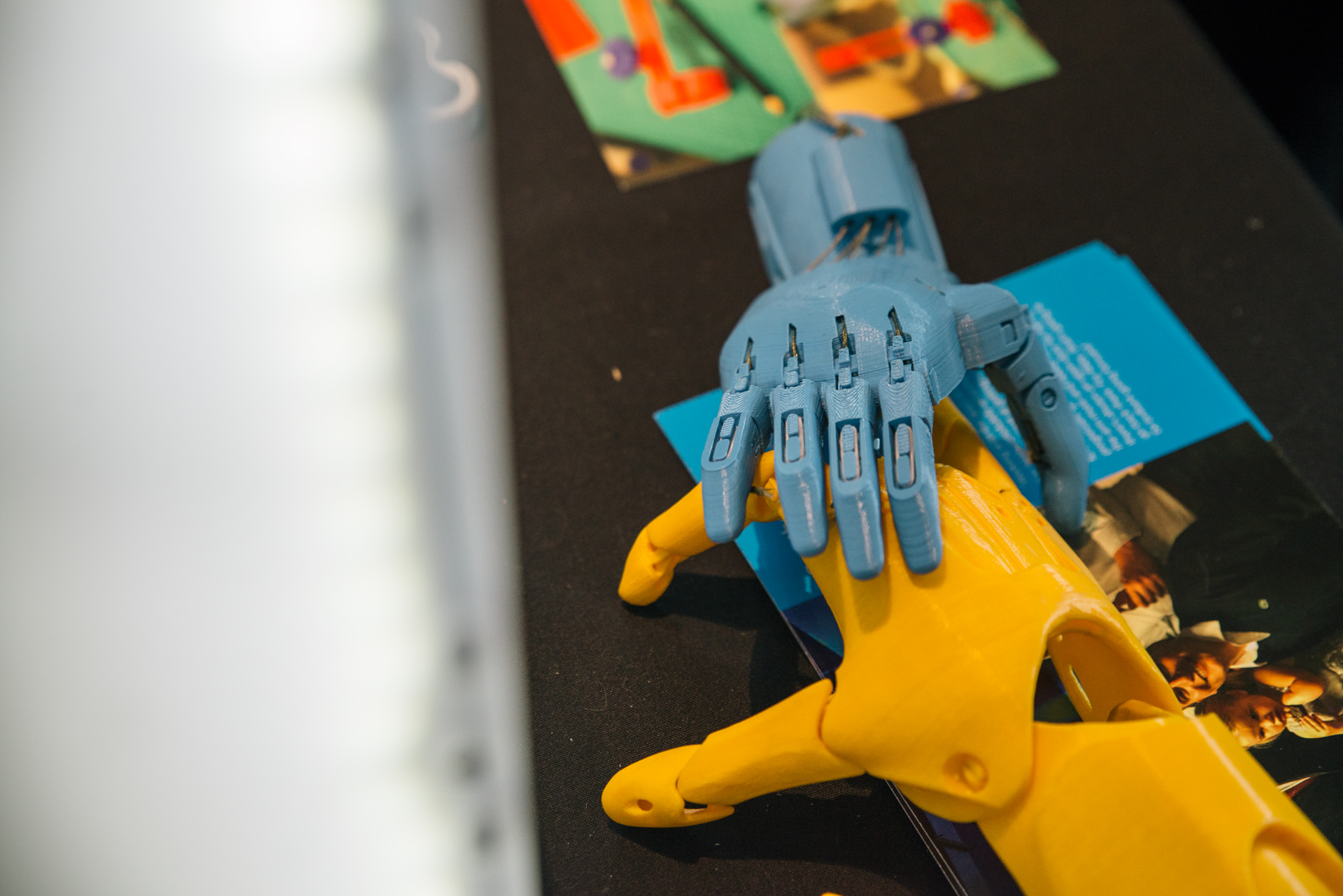 3d printed robot hands