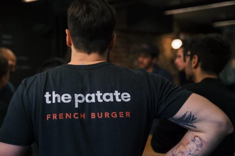 the patate tshirt logo
