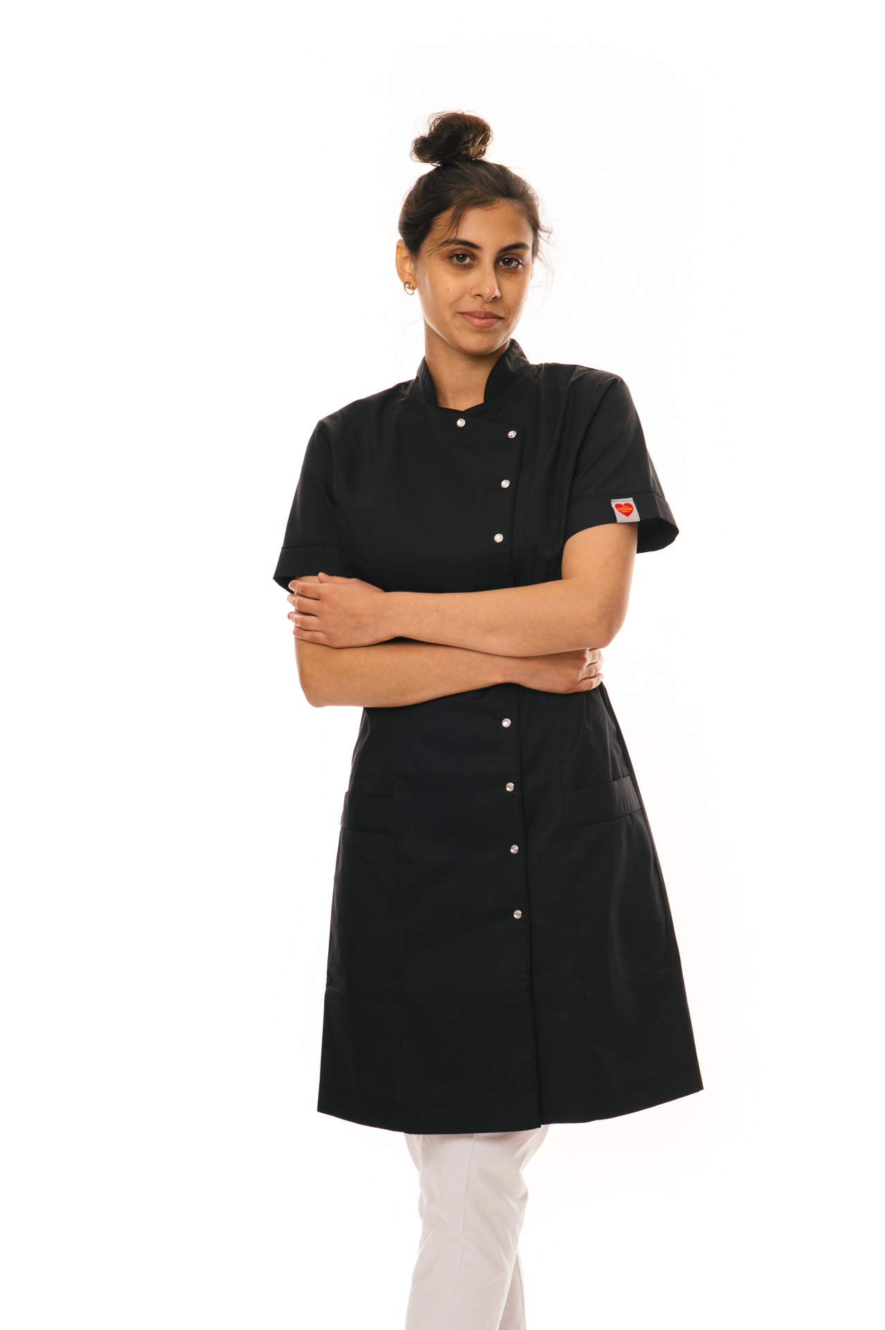 black uniform for work for ladies